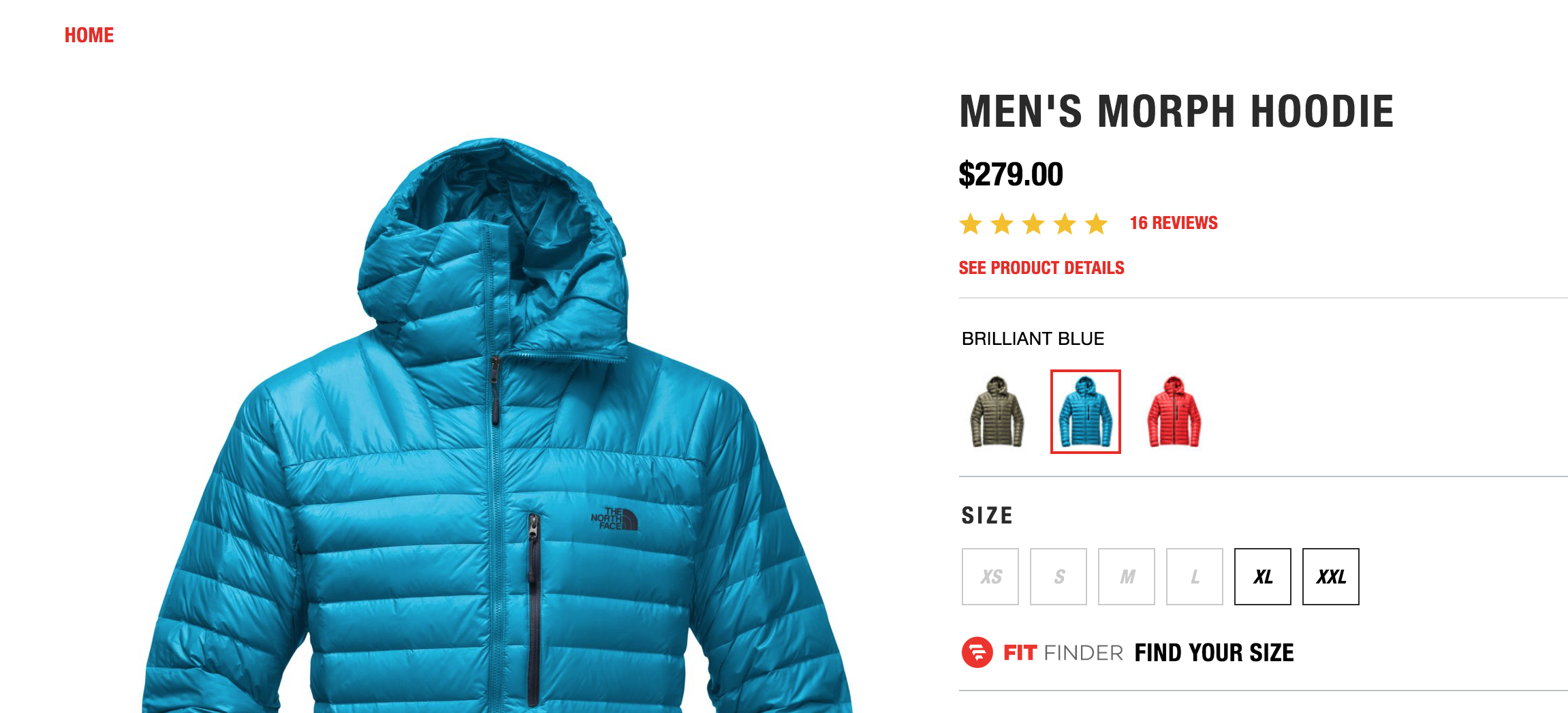 2b0d0dbda The North Face Morph Hoodie Review 2019 - Single Geared