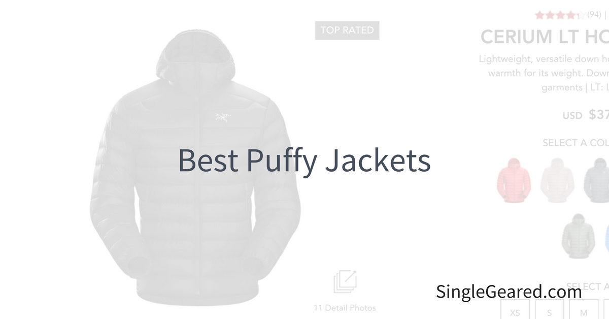 d52bd8d6a2887b Best Down Puffy Jackets for 2019 - Single Geared