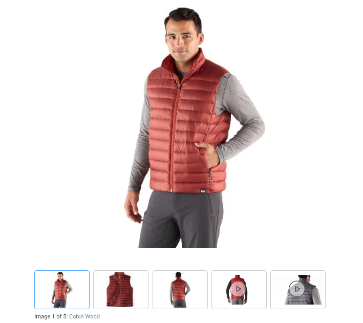 """0ecfad9c4b9 ... REI Denver was having their """"clear out the winter gear and make room  for the summer gear"""" sale and I decided to buy their 650 down vest since it  was ..."""