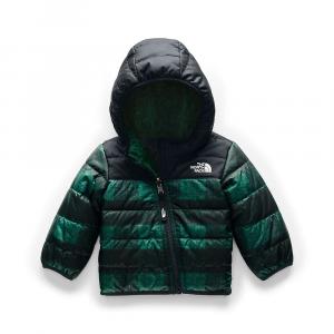The North Face Infant Reversible Mount Chimborazo Hoodie - 12M - Night Green Mini Buff Check Print