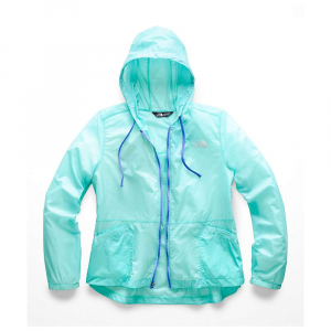 The North Face Women's Blue Rapids Full-Zip Hoodie - Medium - Mint Blue