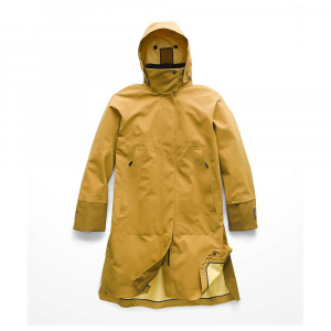 The North Face Women's Cryos 3L Big E Mac GTX Jacket - Small - Bronze Mist / Plantation Green