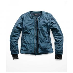 The North Face Women's Mountain Sweatshirt Collarless Full Zip Jacket - Large - Blue Wing Teal