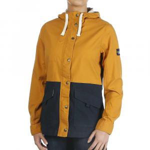 The North Face Women's Ridgeside Utility Jacket - Large - Citrine Yellow / Urban Navy