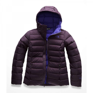 The North Face Women's Stretch Down Hoodie - Small - Galaxy Purple