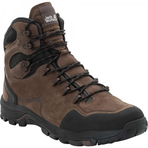Jack Wolfskin Men's Altiplano Prime Texapore Mid Boot - 8 - Mocca