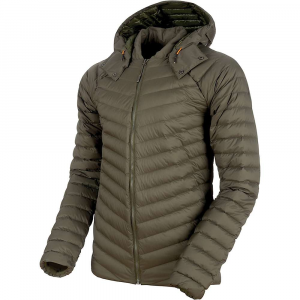 Mammut Men's Alvra Light IN Hooded Jacket - Medium - Iguana