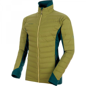 Mammut Men's Alyeska IN Flex Jacket - Small - Clover / Dark Teal