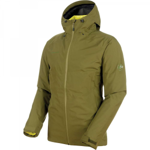 Mammut Men's Convey 3 In 1 HS Hooded Jacket - XL - Clover / Canary