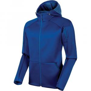 Mammut Men's Logo Ml Hooded Jacket - XL - Surf Melange