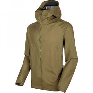 Mammut Men's Masao Light Hardshell Hooded Jacket - Large - Olive