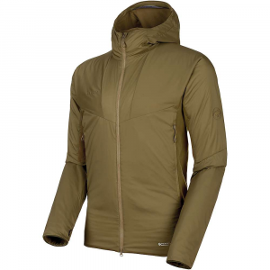 Mammut Men's Rime Light Insulation Flex Hooded Jacket - Medium - Olive