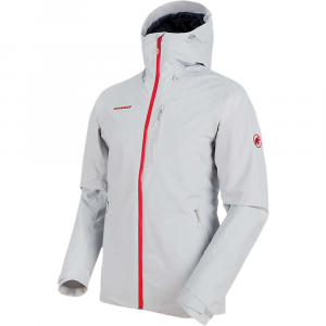 Mammut Men's Runbold HS Thermo Hooded Jacket - Small - Marble / Phantom