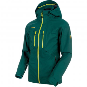 Mammut Men's Stoney HS Jacket - Small - Dark Teal