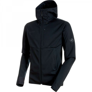 Mammut Men's Ultimate V SO Hooded Jacket - XXL - Black / Black