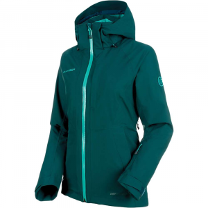 Mammut Women's Cruise HS Thermo Jacket - Large - Teal / Atoll
