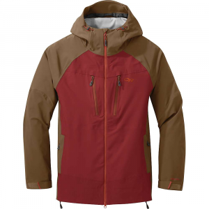 Outdoor Research Men's Skyward II Jacket - Medium - Firebrick / Carob