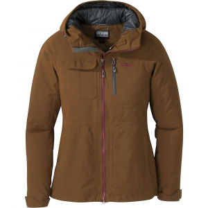 Outdoor Research Women's Blackpowder II Jacket - Small - Saddle