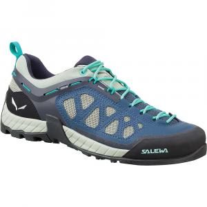 Salewa Women's Firetail 3 Shoe - 8.5 - Dark Denim / Aruba Blue