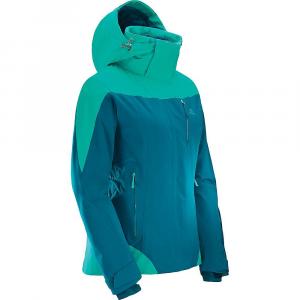 Salomon Women's Icerocket Jacket - Small - Deep Lagoon / Waterfall