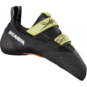 Scarpa Furia Climbing Shoe - 37 - Black / Lime