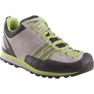Scarpa Women's Crux Shoe - 40.5 - Oyster / Green Glow