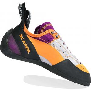 Scarpa Women's Techno X Climbing Shoe - 36 - Silver / Petunia
