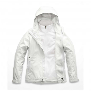 The North Face Women's Arrowood Triclimate Jacket - XS - Tin Grey / TNF White
