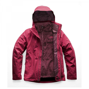 The North Face Women's Osito Triclimate Jacket - Large - Rumba Red / Rumba Red