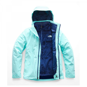 The North Face Women's Osito Triclimate Jacket - Small - Mint Blue / Mint Blue