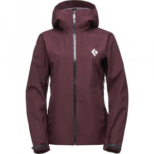 Black Diamond Women's Liquid Point Shell Jacket - Large - Bordeaux