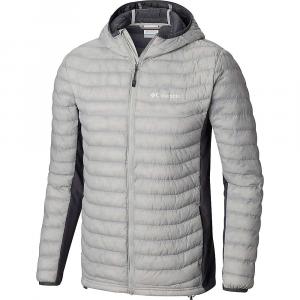 Columbia Men's Powder Pass Hooded Jacket - 4X - Cool Grey Heather / Graphite
