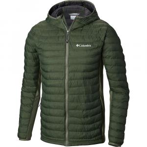 Columbia Men's Powder Pass Hooded Jacket - 4X - Cypress Heather