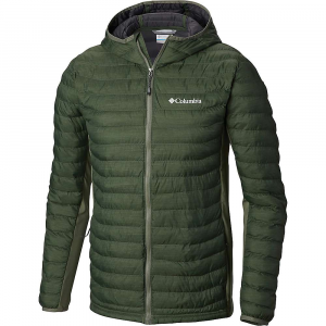 Columbia Men's Powder Pass Hooded Jacket - Large Tall - Cypress Heather