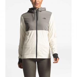 The North Face Women's Mountain Sweatshirt Full Zip Jacket - Medium - Silt Grey / Vintage White