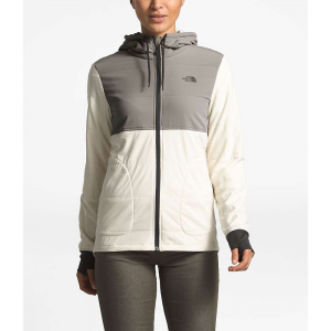 The North Face Women's Mountain Sweatshirt Full Zip Jacket - Small - Silt Grey / Vintage White