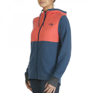 The North Face Women's Mountain Sweatshirt Full Zip Jacket - XS - Spiced Coral Multi