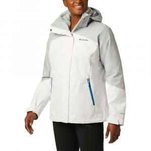 Columbia Women's Bugaboo II Fleece Interchange Jacket - 2X - White / Cirrus Grey / Fathom Blue / Cirrus Grey