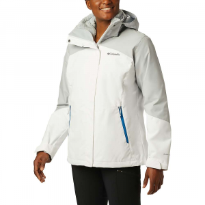 Columbia Women's Bugaboo II Fleece Interchange Jacket - 3X - White / Cirrus Grey / Fathom Blue / Cirrus Grey