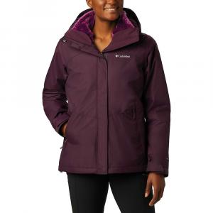 Columbia Women's Bugaboo II Fleece Interchange Jacket - XS - Black Cherry / Wild Iris
