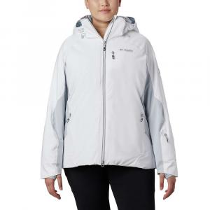 Columbia Women's Titanium Snow Rival II Jacket - Large - White / Cirrus Grey