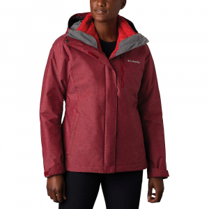 Columbia Women's Whirlibird IV Interchange Jacket - Large - Beet Crossdye / Red Lily