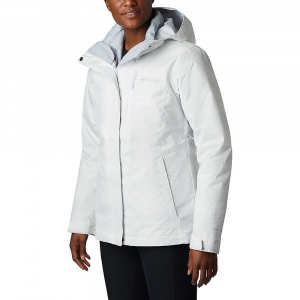Columbia Women's Whirlibird IV Interchange Jacket - XL - White Simple Lines Print / Cirrus Grey