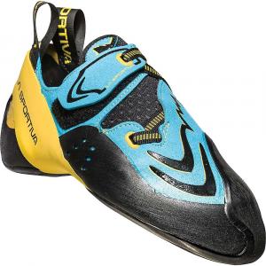 La Sportiva Men's Futura Climbing Shoe - 34.5 - Blue / Yellow