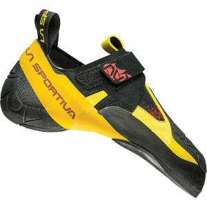 La Sportiva Men's Skwama Climbing Shoe - 37.5 - Black / Yellow