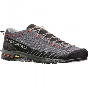 La Sportiva Men's TX2 Shoe - 41.5 - Carbon / Tangerine