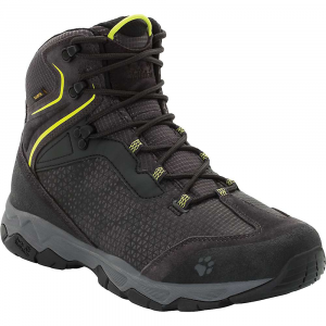 Jack Wolfskin Men's Rock Hunter Texapore Mid Boot - 10 - Lime Green