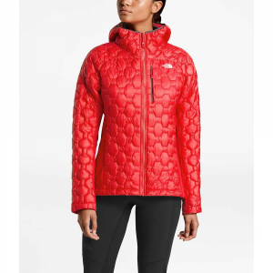 The North Face Women's Impendor ThermoBall Hybrid Hoodie - Medium - Juicy Red