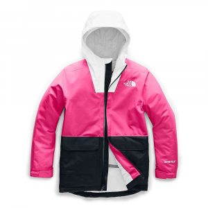 The North Face Youth Fresh Pow Insulated Jacket - Medium - Mr. Pink