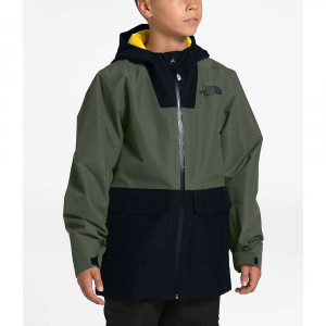 The North Face Youth Fresh Pow Insulated Jacket - Medium - New Taupe Green